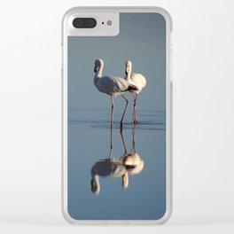 Flamingos, San Pedro de Atacama, Chile Clear iPhone Case