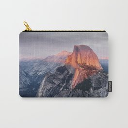 Sunset in Yosemite National Park, North America from Glacier Point  view Carry-All Pouch