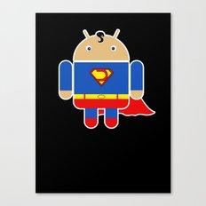 Super Droid Canvas Print