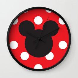Mickey Mouse No. 6 Wall Clock
