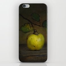 autumn fruit ( quince ) iPhone & iPod Skin