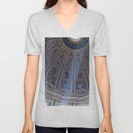 St. Peter's Basilica Unisex V-Neck