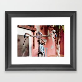 Vintage bicycle Framed Art Print