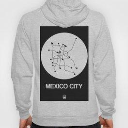 Mexico City White Subway Map Hoody