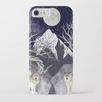 guardians iPhone & iPod Cases featuring Guardians by Yoly B. / Faythsrequiem
