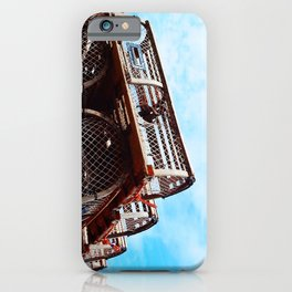 Lobster Trap Stack iPhone Case