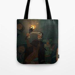The Cask of Amontillado Tote Bag