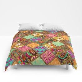 Patchwork Paisley Comforters