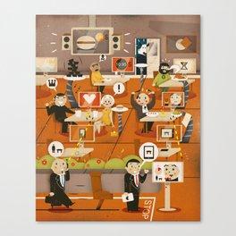 Kitchen Madness ... ( 2011 ) Canvas Print