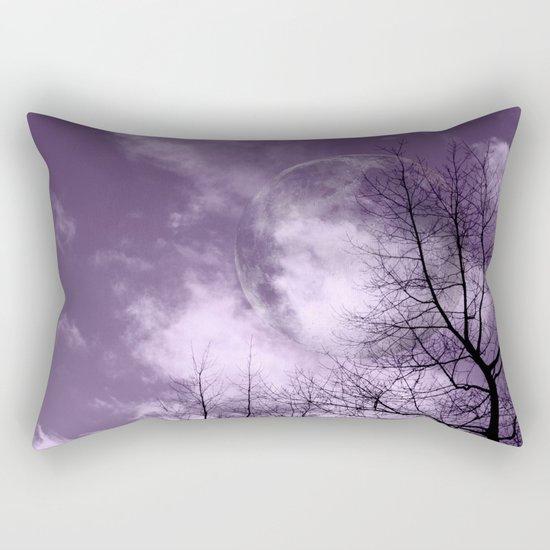 Purple Night  - JUSTART © Rectangular Pillow