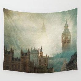 London Surreal Wall Tapestry