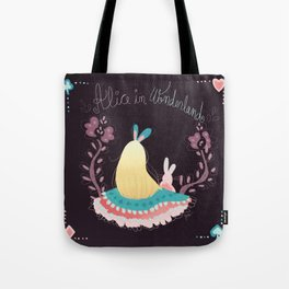 Alice In Wonderland. Tote Bag
