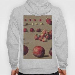 Strawberries and plums (1828-1882) by Dirk Jan Hendrik Joosten Hoody