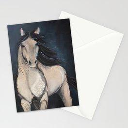 Midnight Wild Horse Stationery Cards