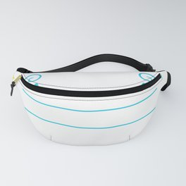 Anyone Can Lift Weights But Cheerleaders Can Lift People Fanny Pack