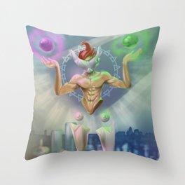 Libra - Zodiac King Throw Pillow