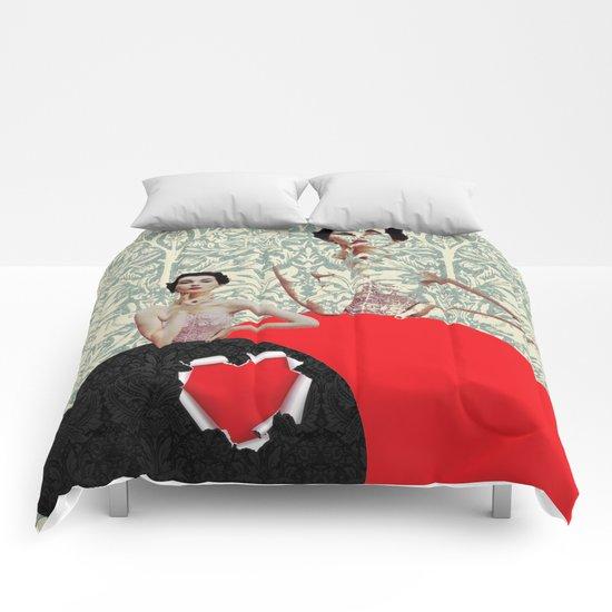 Peephole Valentine Comforters