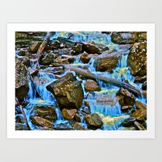 The Runoff Art Print