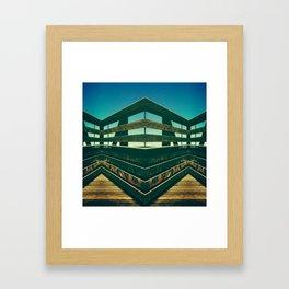 WOODEN LASSO Framed Art Print