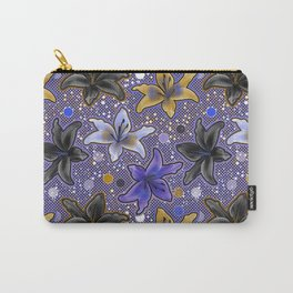 Lilies (Purple) Carry-All Pouch