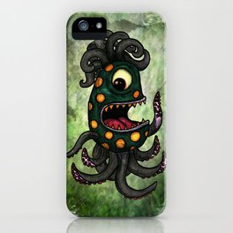 Maxwell the Sea Monster iPhone Case