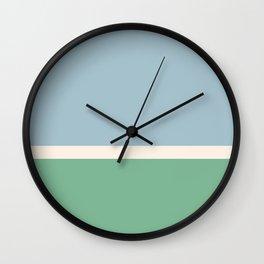 Juniper Color Block Wall Clock