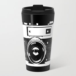 Old film camera Travel Mug