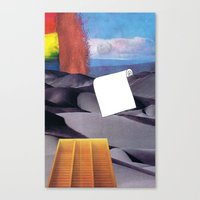 tool Canvas Prints featuring Spill Tool by Ventral Is Golden