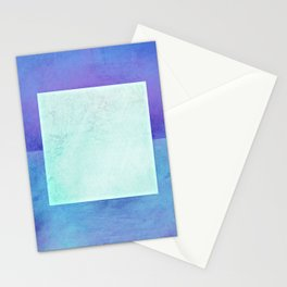Square Composition XI Stationery Cards