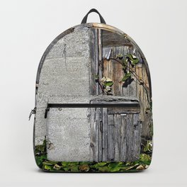 Dilapidated Door Backpack