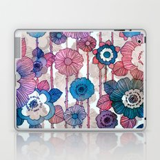 Hanging Flower Garland Laptop & iPad Skin