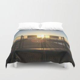 Gated Sunrise Duvet Cover