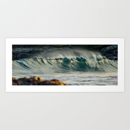 Summer Surf Art Print
