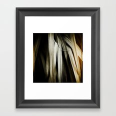 Leafy Grass Detail Framed Art Print