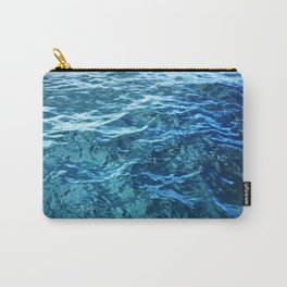 The Ocean's Surface Carry-All Pouch