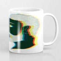 greek Mugs featuring Greek by Giovanni Choisy