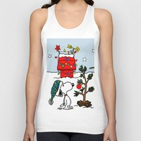 snoopy Tank Tops featuring Snoopy 01 by tanduksapi