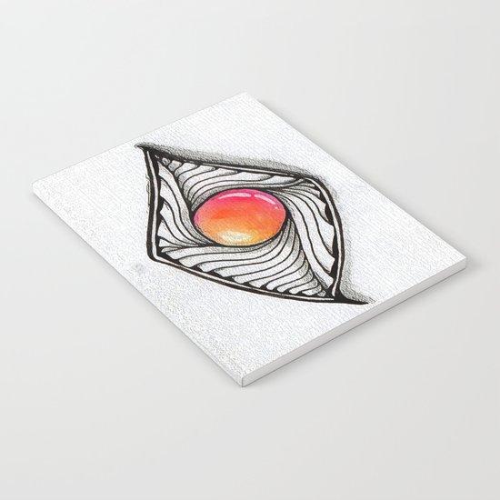 Doodled Gem Sparkle Eye Notebook