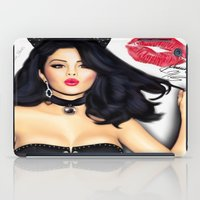 selena iPad Cases featuring Selena Gomez  by Justinhotshotz