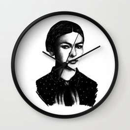 Frida Khalo Wall Clock