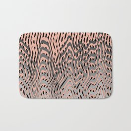 Electric Waves Bath Mat