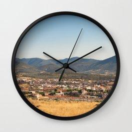 Los Navalucillos 02 Wall Clock