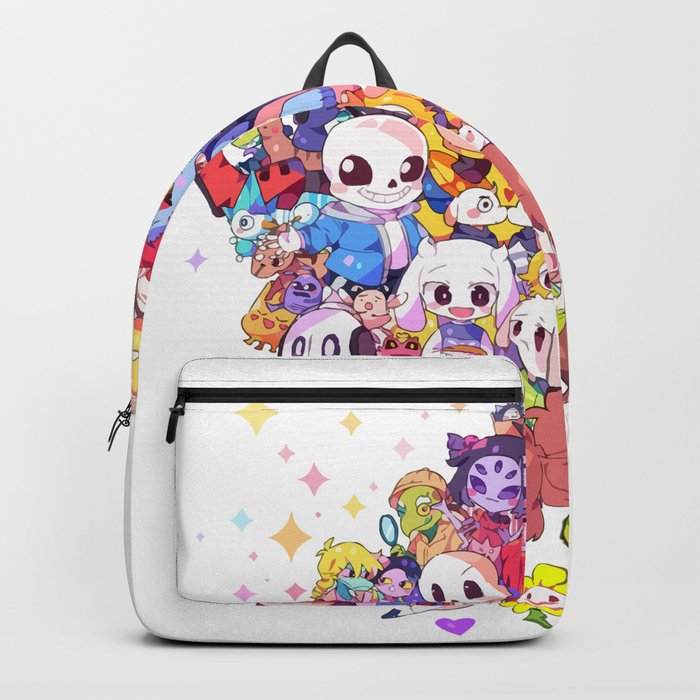 b0c37358a1be UNDERTALE MUCH CHARACTER Backpack by ampun-dj