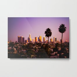 Silverlake Sunset Metal Print
