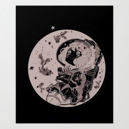 Astrum Nauta Art Print