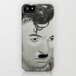 Charlie Chaplin iPhone Case