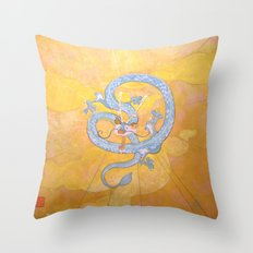 Happy Chinese New Year of the Dragon! Throw Pillow