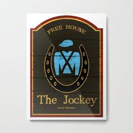 The Jockey - Shameless Metal Print