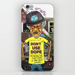 Uncle Freeloaders Life Story Remixed iPhone Skin