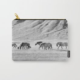 Horses in Iceland Photograph Carry-All Pouch